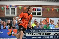 KAATSEN: DRONRIJP: 03-06-2018, Tjisse Steenstra juicht na het behalen van de <br /> overwinning, &copy;foto Martin de Jong