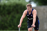 Sam Nixon of Bath Rugby looks on. Bath Rugby pre-season S&C session on June 22, 2017 at Farleigh House in Bath, England. Photo by: Patrick Khachfe / Onside Images