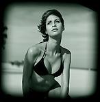 South Beach Fashion Model.