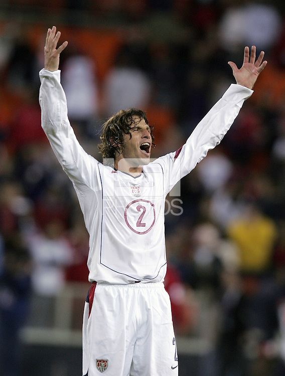 Frankie Hejduk, Panama vs USA, World Cup qualifier at RFK Stadium, 2004.