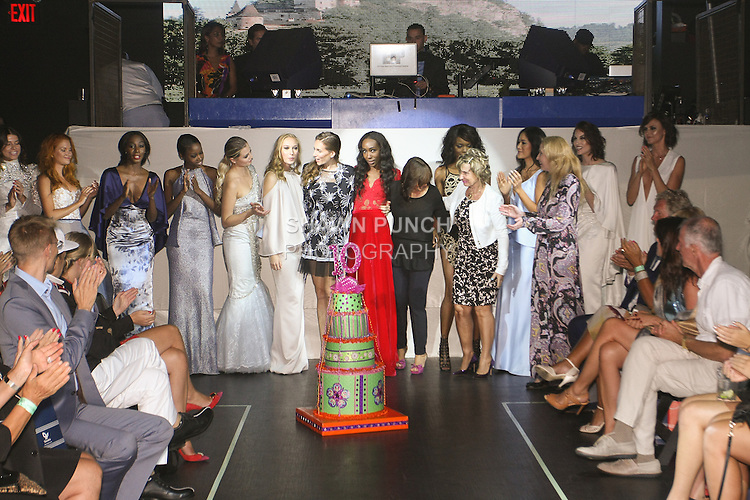 Images from the 10 annual Slovak Fashion Night 2015 in New York City, on September 18, 2015.
