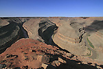 San Juan River in Goosenecks State Park, Goosenecks Reserve, Mexican Hat, Utah, USA.