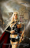 Gaetano, MODERN, MODERNO, paintings+++++The Warrior Princess,ITGF94,#n#, EVERYDAY ,fantasy,puzzles,gothic,pin-up,pin-ups