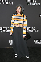 BUENA PARK, CA - SEPTEMBER 29:  Anne Curtis at Knott's Scary Farm & Instagram's Celebrity Night at Knott's Berry Farm in Buena Park, California on September 29, 2017. Credit: Faye Sadou/MediaPunch