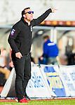 Uppsala 2015-05-21 Fotboll Superettan IK Sirius - Mj&auml;llby AIF :  <br /> Sirius tr&auml;nare Kim Bergstrand gestikulerar under matchen mellan IK Sirius och Mj&auml;llby AIF <br /> (Foto: Kenta J&ouml;nsson) Nyckelord:  Superettan Sirius IKS Mj&auml;llby AIF portr&auml;tt portrait tr&auml;nare manager coach