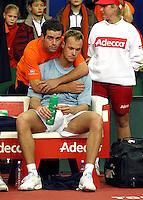 2003-02-15 Daviscup Netherlands-Suisse