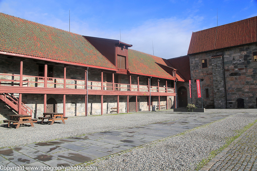 Armoury museum, National Military Museum, Archbishop's Palace  Trondheim, Norway
