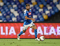 25th July 2020; Stadio San Paolo, Naples, Campania, Italy; Serie A Football, Napoli versus Sassuolo; Elseid Hysaj of Napoli breaks forward on the ball