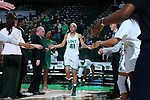 DENTON, TX - MARCH 7: North Texas Mean Green Women's Basketball v University of Texas El Paso at Super Pit - North Texas Coliseum on March 7, 2020 in Denton, Texas.