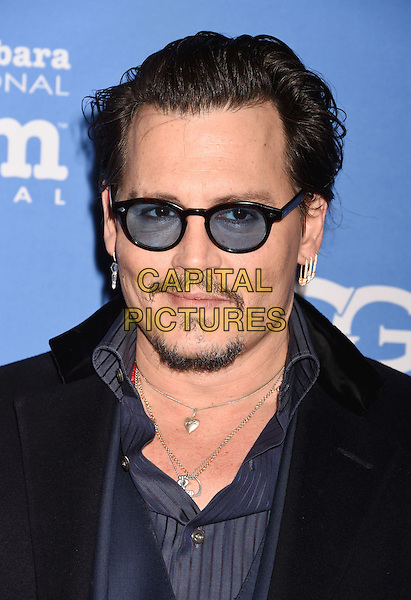SANTA BARBARA, CA - FEBRUARY 04: Actor Johnny Depp attends the 31st Santa Barbara International Film Festival at the Arlington Theater on February 4, 2016 in Santa Barbara, California.<br /> CAP/ROT/TM<br /> &copy;TM/ROT/Capital Pictures