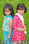 Pictured at the Presentation Primary School International Day last Friday were l-r: Isha Maldy Islam and Sahima Maeyda.