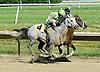 Tiki Barber winning at Delaware Park on 6/30/10