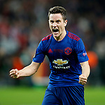 Ander Herrera of Manchester United celebrates after the UEFA Europa League Final match at the Friends Arena, Stockholm. Picture date: May 24th, 2017.Picture credit should read: Matt McNulty/Sportimage