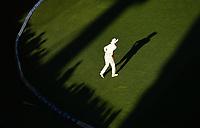 Jeet Raval fielding.<br /> New Zealand Blackcaps v England. 1st day/night test match. Eden Park, Auckland, New Zealand. Day 4, Sunday 25 March 2018. &copy; Copyright Photo: Andrew Cornaga / www.Photosport.nz