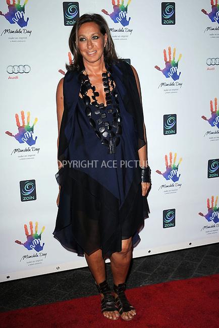 WWW.ACEPIXS.COM . . . . . ....July 15 2009, New York City....Designer Donna Karan at the Mandela Day Gala Dinner hosted by 46664 and the Nelson Mandela Foundation at Grand Central Terminal on July 15, 2009 in New York City.....Please byline: KRISTIN CALLAHAN - ACEPIXS.COM.. . . . . . ..Ace Pictures, Inc:  ..tel: (212) 243 8787 or (646) 769 0430..e-mail: info@acepixs.com..web: http://www.acepixs.com
