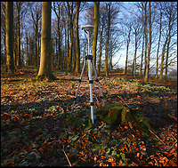 BNPS.co.uk (01202 558833)<br /> Pic: MyrddynPhilips/BNPS<br /> <br /> Trimble GPS measuring device.<br /> <br /> Border skirmish - Amateur cartologist discovers part of Wales should actually be in England.<br /> <br /> A hillwalker has discovered that the border between England and Wales has been incorrectly marked for decades - and that England should be given more land.<br /> <br /> Myrddyn Phillips said the official border between the two countries in the Black Mountains south of Hay-on-Wye has been wrongly traced on the Ordnance Survey maps.<br /> <br /> The current border should follow the natural watershed from the summit of Twyn Llech on the nine mile long Hatterrall Ridge in the remote area.<br /> <br /> But intrepid Mr Phillips and his rambling partner Mark Trengove have remeasured the summit of the 2,308ft mountain - and found it to be 12m further west than previously thought.<br /> <br /> Although 12 metres is a seemingly small discrepancy, the area amounts to 1.8 million square feet along the entirety of the ridge.