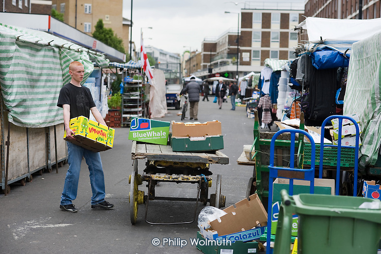Church Street market, West London