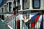 Silver Jubilee celebrations, London 1977.Uk East end London decorated houses.