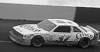 Paty Moise competes in  the Busch Series race at Darlington Raceway in Darlington, SC on March 19, 1988. (Photo by Brian Cleary/www.bcpix.com)