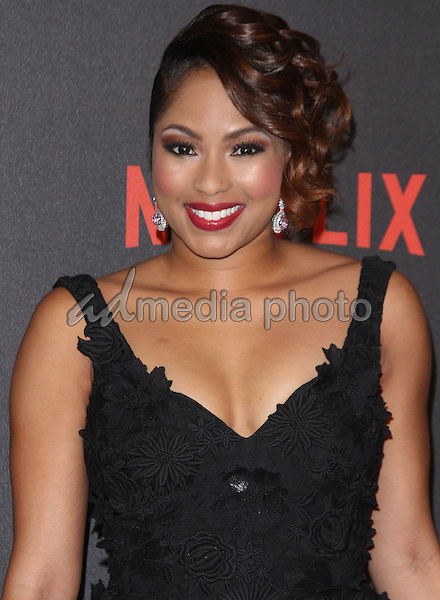 10 January 2016 - Los Angeles, California - Alicia Quarles. 2016 Weinstein Company & Netflix Golden Gloves After Party held at the Beverly Hilton Hotel. Photo Credit: AdMedia