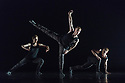 "London, UK. 06.03.2018. Ballet British Columbia starts its first UK tour at Sadler's Wells.  ""16+ a room"", part of the mixed bill, is choreographed by the company's artistic director, Emily Molnar. Lighting design is by Jordan Tuinman, with costumes by Kate Burrows.The dancers are: Brandon Alley, Andrew Bartee, Emily Chessa, Livona Ellis, Alexis Fletcher, Scott Fowler, Patrick Kilbane, Racheal Prince, Justin Rapaport, Peter Smida, Christoph von Riedemann, Nicole Ward, Kirsten Wickland. Photograph © Jane Hobson."