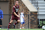 02 September 2012: Santa Clara's Jared Hegardt. The North Carolina State University Wolfpack defeated the Santa Clara University Broncos 2-1 at Koskinen Stadium in Durham, North Carolina in a 2012 NCAA Division I Men's Soccer game.