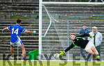 Jack Savage  Kerins O'Rahillys scores a goal from a penalty in the Kerry Senior Football Championship Semi Final at Fitzgerald Stadium on Saturday.