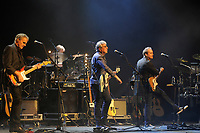 LONDON, ENGLAND - APRIL 13: Rick Fenn, Graham Gouldman and Mick Wilson of '10cc' performing at The London Palladium on April 13, 2017 in London, England.<br /> CAP/MAR<br /> &copy;MAR/Capital Pictures