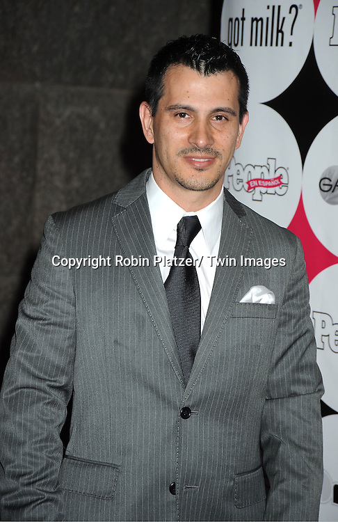 """Alvaro Altamirano attending at The 15th Annual People En Espanols """" 50 Most Beautiful"""" event at Guastavino's in New York City on May 19, 2011."""