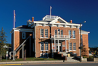 Custer County 1881 Courthouse Museum was constructed 8 years before South Dakota became a state and served as a courthouse until 1973 Custer South Dakota.