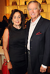 Betty and Jess Tudor at an evening honoring The Houston Symphony Young Associates Council at the Louis Vuitton store in the Galleria Thursday August 15, 2013.(Dave Rossman photo)