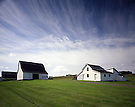 Acadian Farm Buildings.New Sweden, Maine