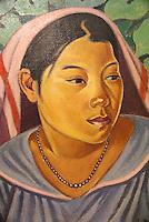 Pancha con Topada Rosa by Jose Mejia Vides, (1903-1993) Museo de Arte de El Salvador (MARTE), San Salvador, El Salvador
