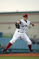 April 17, 2010: Shane Wolf of the Lancaster JetHawks during game against the Rancho Cucamonga Quakes at Clear Channel Stadium in Lancaster,CA.  Photo by Larry Goren/Four Seam Images