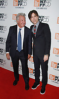 NEW YORK, NY October 01, 2017 Dustin Hoffman, Noah Baumbach attend 55th New York Film Festival premiere of The Meyerowitz Stories at Alice Tully Hall Lincoln Center in New York October 01,  2017.<br /> CAP/MPI/RW<br /> &copy;RW/MPI/Capital Pictures