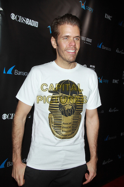 NEW YORK, NY - JANUARY 31: Perez Hilton at the 11th Annual 'Leather &amp; Laces' Party at The Liberty Theatre on January 31, 2014 in New York City.  <br /> CAP/MPI/RW<br /> &copy;RW/ MediaPunch/Capital Pictures