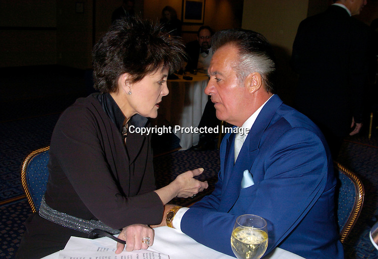 Linda Dano and Tony Sirico ..at HeartShare 's Annual Spring Gala on March 24, 2004 at the Marriott Marquis in New York City...Photo by Robin Platzer, Twin Images
