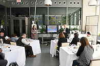 A wine tasting and seminar for industry professionals.