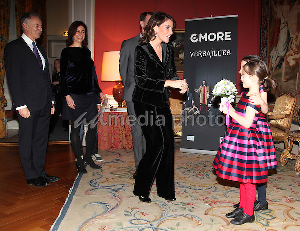 16 December 2015 - Copenhagen, Denmark - Denmark Prince Joachim and Princess Marie during the viewing of the tv-serie 'Versailles' at the French embassy in Copenhagen. Photo Credit: PPE/face to face/AdMedia