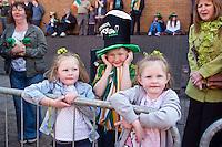St Patricks Day Parade Digbeth Birmingham, 14th March 2012,