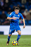 Francisco Portillo Soler of Getafe CF in action during the La Liga 2017-18 match between Getafe CF and Malaga CF at Coliseum Alfonso Perez on 12 January 2018 in Getafe, Spain. Photo by Diego Gonzalez / Power Sport Images