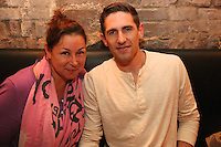 Kristin Squillant and Mitchell Correira attend the private screening of ABC's new show Selfie at the Wythe Hotel's cinema in Brooklyn on September 24, 2014