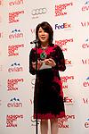 September 6, 2012 : Tokyo, Japan - Mitsuko Watanabe appears at the press conference for ''FASHION'S NIGHT OUT'' by VOGUE JAPAN, Tokyo, Japan. VOGUE JAPAN's Mitsuko Watanabe announced the fashion event in Osaka area. It will be called ''FASHION'S NIGHT OUT 2012 OSAKA in Umeda Hankyu. (Photo by Yumeto Yamazaki/AFLO).