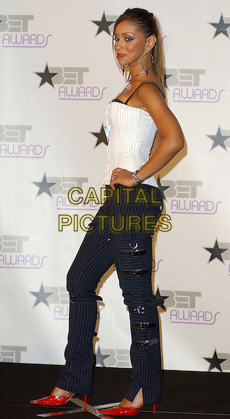 MYA.3rd Annual BET Awards (Black Entertainment Television) held at the Kodak Theatre, Hollywood.www.capitalpictures.com.sales@capitalpictures.com.©Capital Pictures..full length, full-length