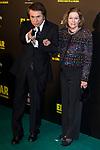 "Raphael and Natalia Figueroa attends the premiere of the film ""El bar"" at Callao Cinema in Madrid, Spain. March 22, 2017. (ALTERPHOTOS / Rodrigo Jimenez)"