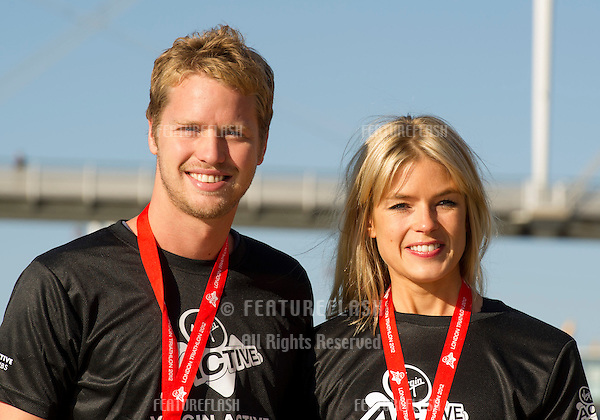 Sam Branson and Isabella Calthorpe at the The Virgin Triathlon 2012, Excel Arena,  Docklands, London. 22/09/2012 Picture by: Simon Burchell / Featureflash.