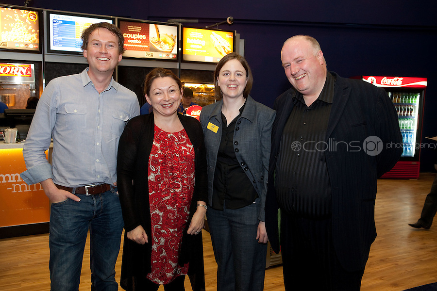 15/7/2011. David Reeed, Niamh Mc Call, Siobhan Carr and Brendan Brady are pictured at the opening of UCI Stillorgan. Picture Collins Photo Agency.