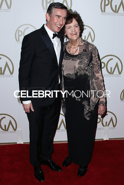 BEVERLY HILLS, CA - JANUARY 19: Steve Coogan, Philomena Lee at the 25th Annual Producers Guild Awards held at The Beverly Hilton Hotel on January 19, 2014 in Beverly Hills, California. (Photo by Xavier Collin/Celebrity Monitor)