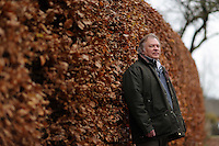 Pictured: Anthony Plant of the Sidney Nolan Trust Friday 02 December 2016<br /> The Sidney Nolan Trust, Rodd, Herefordshire, England, UK