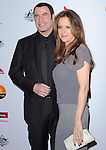 John Travolta and Kelly Preston at The G'Day USA Black Tie Gala held at The JW Marriot at LA Live in Los Angeles, California on January 12,2013                                                                   Copyright 2013 Hollywood Press Agency